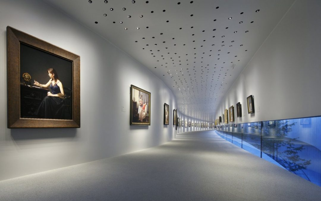 DIALux evo per l'illuminazione degli spazi espositivi commerciali e museali
